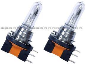 2 x H15 715 12V 15/55W PJ26T-1 DRL HEADLIGHTS Main Beam Halogen Bulbs CLEAR PAIR