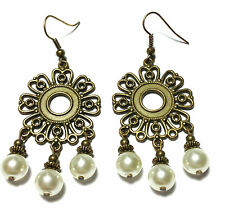 Asian Earrings without Stone