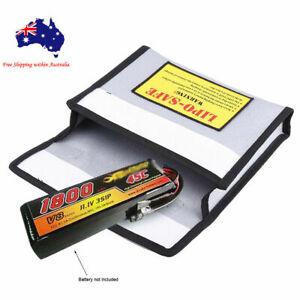 Li-Po Lipo Battery Explosion-proof Fireproof Safe Guard Bag 240x 180 x 65mm New