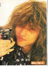 JON BON JOVI 'trigger happy' magazine PHOTO / Pin Up /Poster 11x8 inches