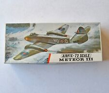 Airfix 1/72 Scale Meteor III Unmade Plastic Kit