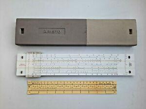 Vintage Aristo 0969 StudioLog 969 - Slide Rule Germany Top Rare
