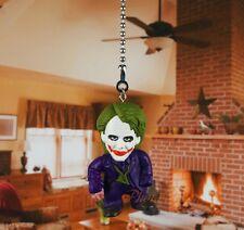 Dark Knight BATMAN Villain JOKER Ceiling Fan Pull Light Lamp Chain Decor K484 F
