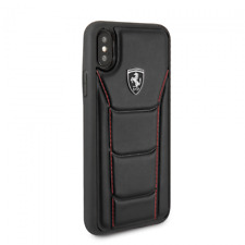iPhone X/XS FERRARI Hard Case Leather by CG Mobile