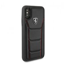 Ferrari iPhone X and iPhone XS Hard Case Leather