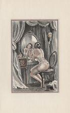 Erotische Grafik 18 Akt Pierre Gandon Erotik LITHOGRAPHIE von 1956
