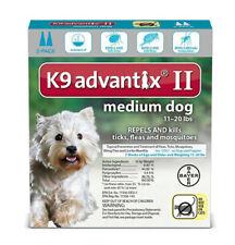 Bayer K9 Advantix Medium Dog 4 Pack 11-20#
