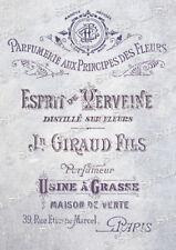 Esprit Perfume STENCIL 3 size EP French Vintage Chic Furniture SUPERIOR 250MYLAR