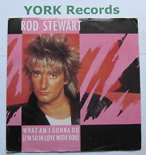 "ROD STEWART - What Am I Gonna Do - Ex Con 7"" Single Warner Brothers W 9564"