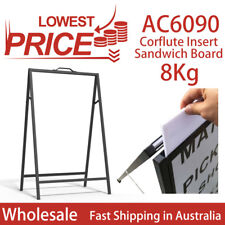 Corflute Insert A-frame/Sandwich Board Advertising Display Poster Stand