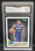 📈 2019-20 Donruss Rated Rookie Base Zion Williamson #201  RC - Pelicans GMA 10