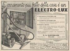 Z1145 Aspirapolvere ELECTRO-LUX - Pubblicità d'epoca - 1933 Old advertising