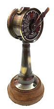 "Antique Brass Ship's Engine Order Telegraph 6"" Vintage Nautical Room Decor Gift"