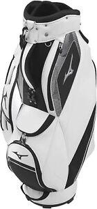 MIZUNO Golf Men's Caddy Bag NEXLITE 9 x 47 inch 2.4kg White Black 5LJC210300 New