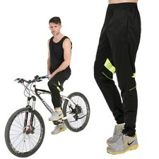Men Cycling Pants Long Bike Pants Quick Dry Anti-sweat Breathable Pockets Cycle