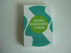 Israel Resource Cards The Goodman Camping Initiative for Modern Israel History