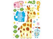 """ANIMAL DRÔLE Stickers muraux pour chambres d'ENFANTS """" Kenya """""""
