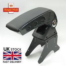 Universal Carbon Armrest Center Console Fits Vw Golf Mk3 Mk4 Mk5 Passat 3C CC