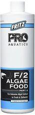 New listing Fritz Aquatics Pro F/2 Algae Food Part A16oz Fresh & Saltwater Aquariums