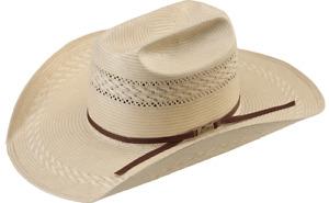 American Hat Co Straw Tuff Cooper Straw Hat