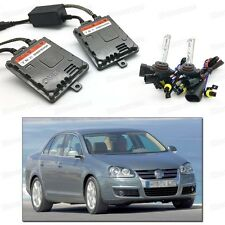 55W HID Xenon High/Low Beam Bulbs Ballasts Conversion Kit for VW Jetta 2006-2010