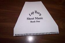 lap harp sheet music book.   10 songs.