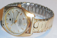Roamer Superking Manual winding Gold Plated watch,Rare