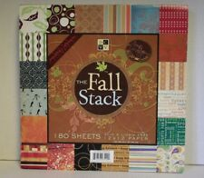 DCWV The Fall Stack 180 sheets 12 X 12 Acid 7 Lignin Free Paper Scrapbook Crafts