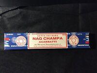Satya Nag Champa Incense Sticks 15g/box  (3 box lot)