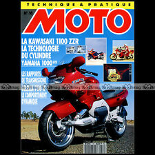 TECHNIQUE PRATIQUE MOTO N°16 YAMAHA GTS 1000 KAWASAKI ZZR 1100 GILERA RC 750 R