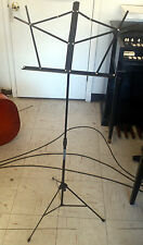 NEW Strukture Collapsible Music Stand BLACK with music stays LIQUIDATION SALE