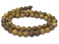 😏 Afrikanisches Sandelholz Perlen 8 mm Kugeln Holzperlen für Mala, Kette + 😉