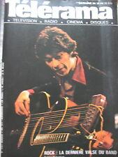1479 LE BAND ROBBIE ROBERTSON ANNE GAILLARD ERNST JÜNGER KUNG FU TELERAMA 1978