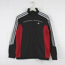 Vintage ADIDAS Black Sports Track Jacket Womens Size Small