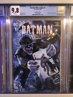 Batman Who Laughs #1 Comic Mint VARIANT A CGC 9.8 MIKE MAYHEW 251 HOMAGE COVER