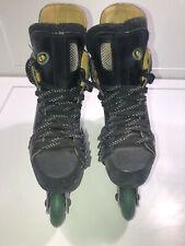 Bauer Off Ice H5 Hockey Inline Skates Roller Blades Size Men's 6D W/ 76mm Wheels