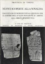 PROV. TORINO _ NUOVE SCOPERTE ALLA NOVALESA _ SEGUSIUM 1964 atti convegno ABBONE