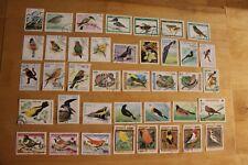 39 timbres oiseaux (lot 1)-T069