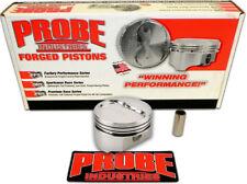 "Probe 12344-060 SBC Small Block Chevy 383 -20.4CC Dished 5.7"" Rod Pistons .060"