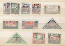 Tannu Tuva, Postage Stamp, #15-26 Mint & Used, 1927, JFZ
