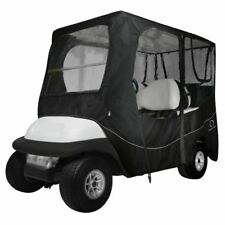 Fairway Deluxe Golf Buggy Enclosure Cover Long Roof Black