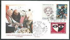1985 VATICANO VIAGGI DEL PAPA NUORO - RM3