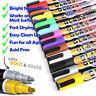 12 Liquid Chalk Markers (2 Tip Sizes) LED Chalkboard Marker Blackboard Pen Label