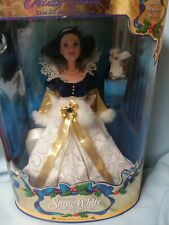 Mattell Disney Special Edition Holiday Princess Snow White Doll & Bunny Ornament