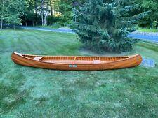 1985 Old Town OTCA Canoe Wood Fiberglass (Mint Condition - Never Used) NY