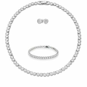 Sparkling Bracelet Women Links Tennis London Adjustable with Swarovski Elements