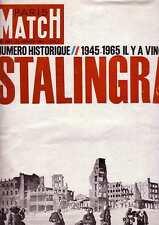 Paris Match N°824 23 janvier 1965  Numéro historique Stalingrad Il y a vingt ans