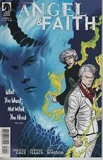 Angel & Faith #22 cover B comic book Season 9 Tv show series Joss Whedon Buffy