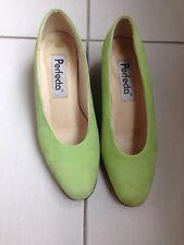 Chaussures/escarpins soirée vert d'eau PERFECTA 36 Vintage
