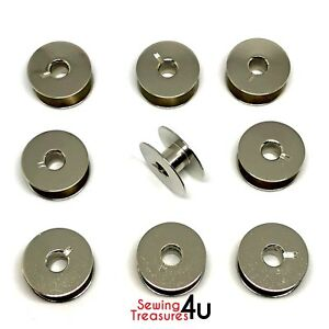 Industrial Sewing Bobbins 21mm X 8.5mm Will Fit SINGER 20U, BROTHER, JUKI + More